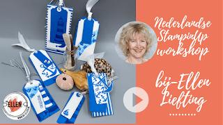 gratis live online workshop volgen via de Facebook pagina van Crafting bij Ellen Liefting