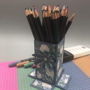 Een potlodenstandaard en diverse andere projecten van Ellen Liefting