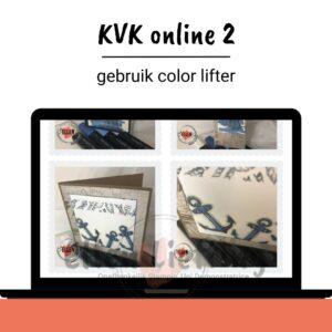 KVK  online 2, blenden en color lifter