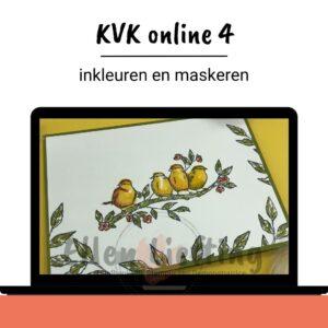 KVK online 4, Maskeren, kaders en details