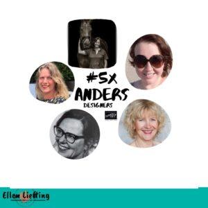 #5xAnders creatieve inspiratie bundel van het StampinUp Tulpenteam