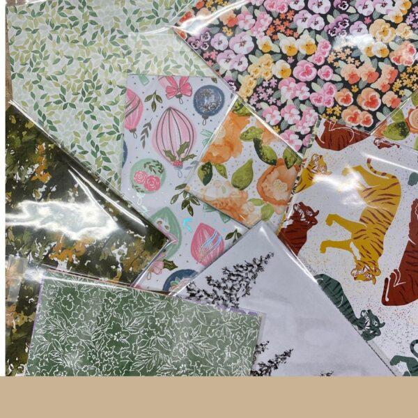 Stampin' Up! kleine pakketjes patroonpapier van bij Ellen