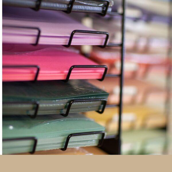 Kaartkarton of cardstock van Stampin' Up! losse vellen in vele kleuren