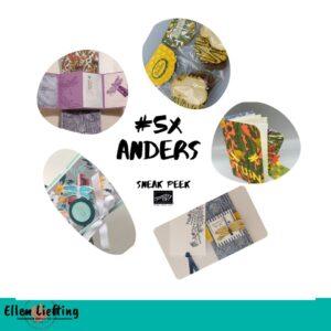 #5xAnders creatieve inspiratie bundel gewerkt met de Dragonfly Garden bundel van Stampin' Up!
