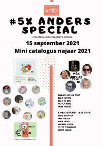 #5xAnders September special, creatieve inspiratie bundel