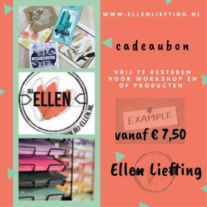 Cadeaubon van bij Ellen